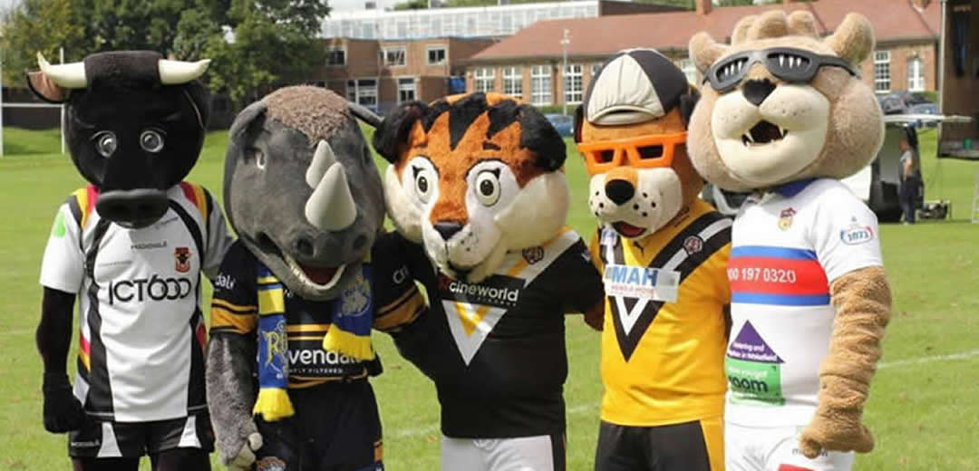 Elite Kids Coaching - Visiting Super League Mascots