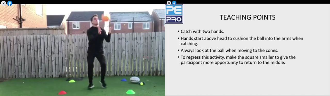 PE Pro Challenges - Teaching Points